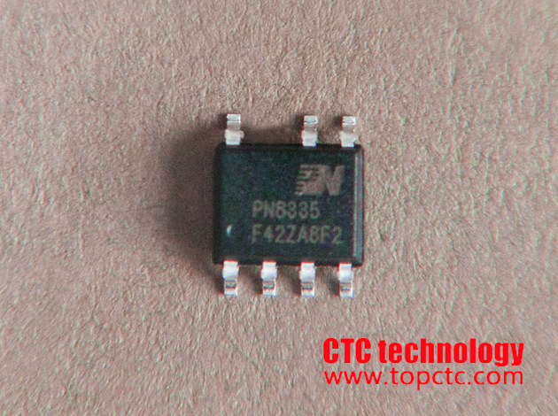 Non-isolated PFC converter with CC LED lighting driver IC-PN8335